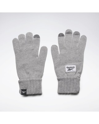 ACTIVE FOUNDATION KNITTED GLOVE GH0475 ΓΚΡΙ