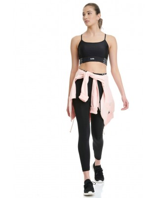 BDTKW HIGH WAISTED LEGGINGS 4/4 # 90%PES 10%EA     1211-909006-100 ΜΑΥΡΟ