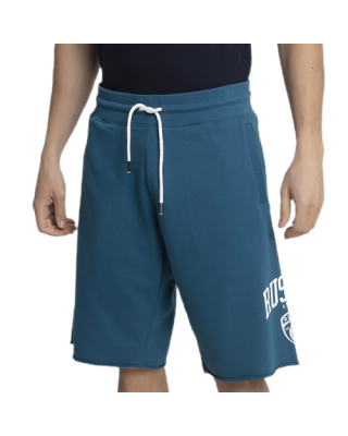 RUSSELL ATHLETIC ATHL-COLLEGIATE RAW EDGE SHORTS A1062-1-215 MO ΜΠΛΕ