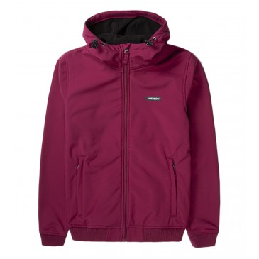 Womens Soft Shell Rib Jkt with Hood 192.EW11.88-RASBERRY  RASPBERRY