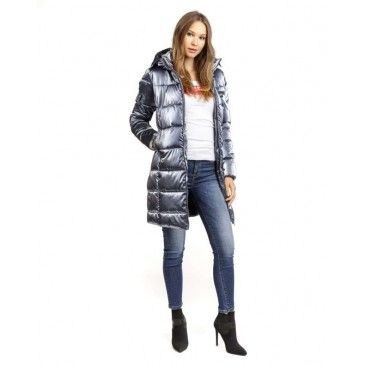WOMENS COAT 2D20FW3514KA1600-ΜΠΛΕ ΜΠΛΕ