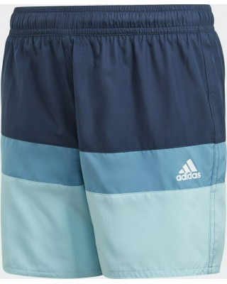 ADIDAS Colorblock Swim Shorts GN5888 ΜΠΛΕ