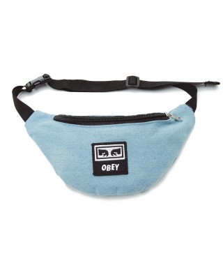 OBEY WASTED HIP BAG 100010098-DEN DENIM