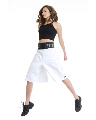 BDTKW JUPE CULOTTE - LOW CROTCH # 100%CO 1211-907104-200 ΛΕΥΚΟ
