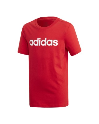 ADIDAS Essentials Linear Logo Tee FS9587 ΚΟΚΚΙΝΟ