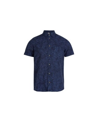 LM LEAVE NOW S/SLV SHIRT 1A1310-5900 ΜΠΛΕ