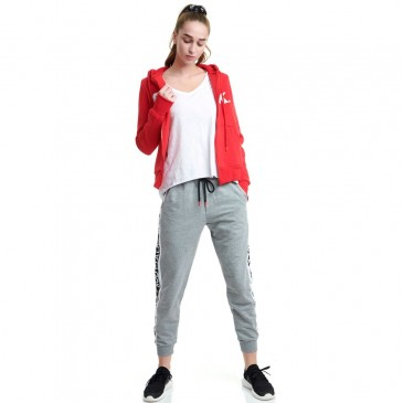 90sBABEW JOGGER PANTS - MEDIUM CROTCH 80 CO 20 PES 1202-904200-54680      ΓΚΡΙ